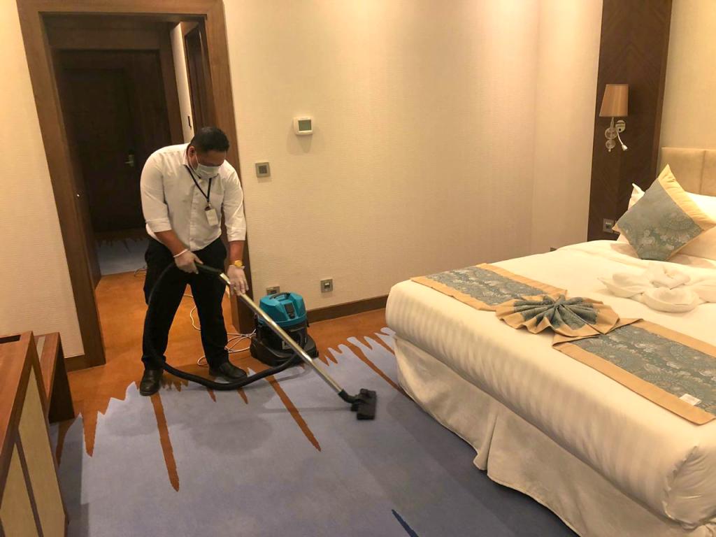 مشروع تشغيل ونظافة فندق